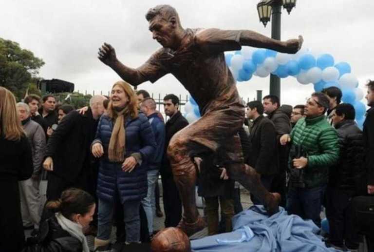 La imagen de la estatua de Lío Messi que le dolió a los argentinos