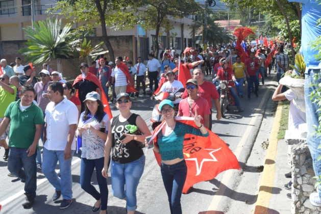 Marcha de la Alianza de Oposición