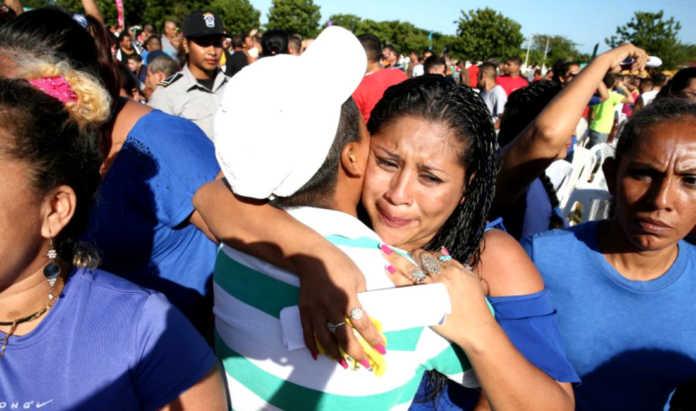 reos liberados en Nicaragua