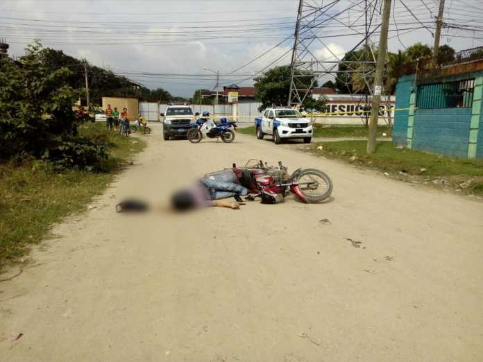 motociclista asesinado en la colonia Saturno de sps