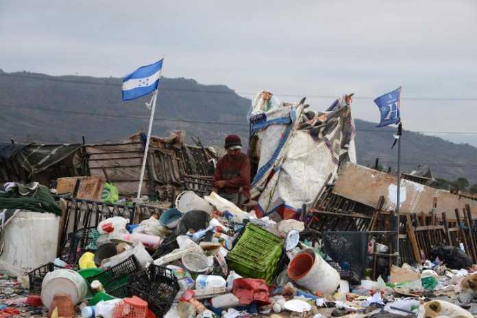 pobres en Honduras