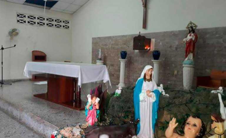 Saquean iglesia católica de Villanueva