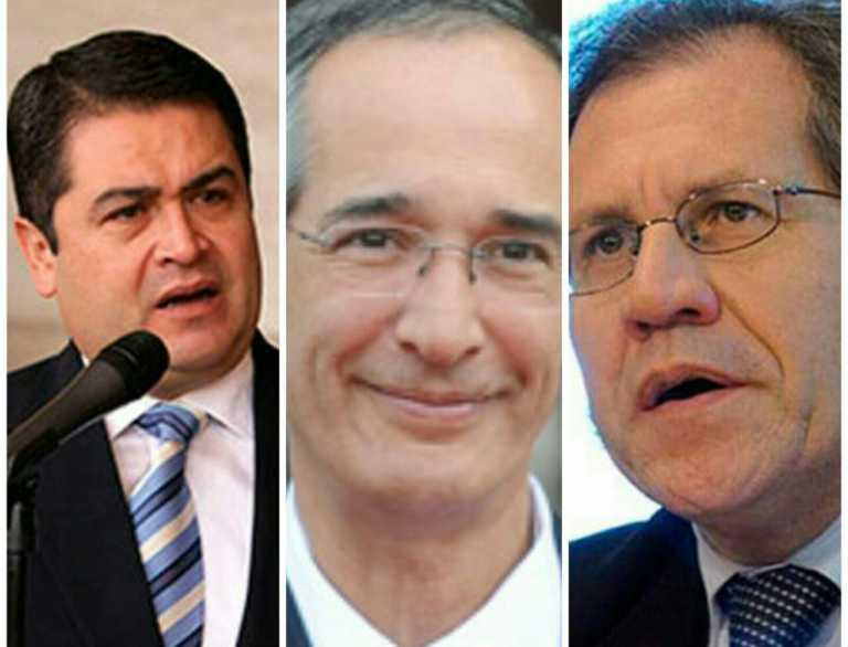 Almagro designa a ex presidente Álvaro Colom para diálogo solicitado por Hernández