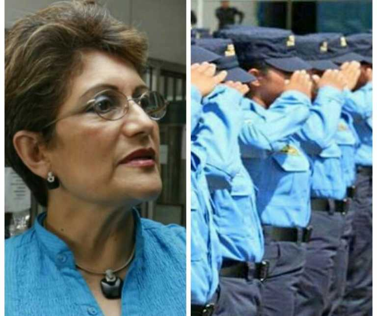 """María Borjas: """"Comisión Depuradora se ha vuelto cómplice de la Policía"""""""
