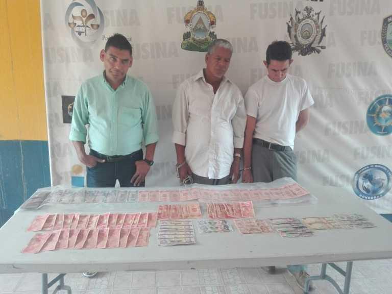 Detienen a supuesta banda de asaltantes y estafadores en Danlí