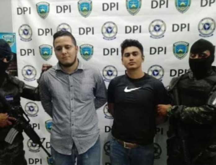 ex policía detenido en Choluteca