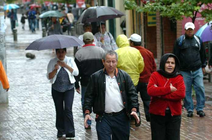 frente frío dejará lluvias y bajas temperaturas