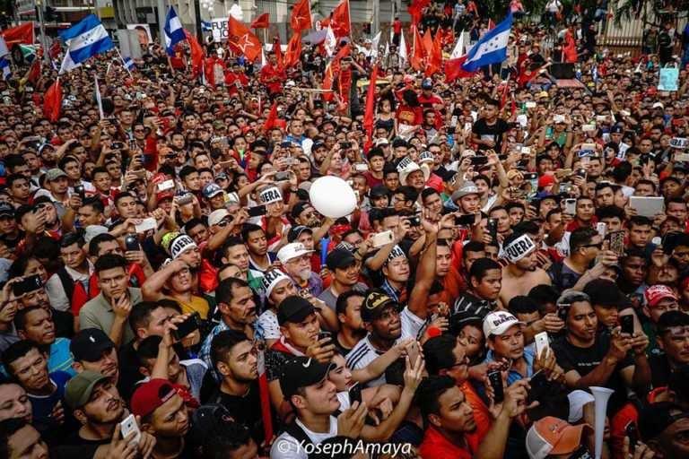 Alianza convoca a gran movilización el próximo viernes en Tegucigalpa