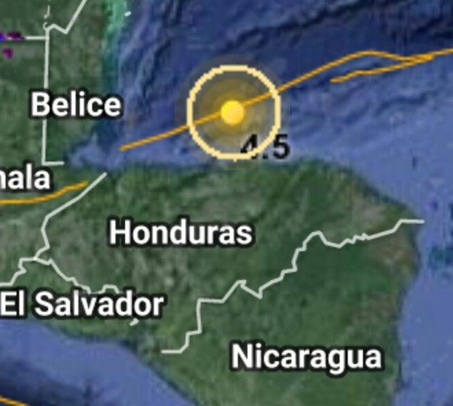 Temblor sacude Islas de la bahía este primero de enero