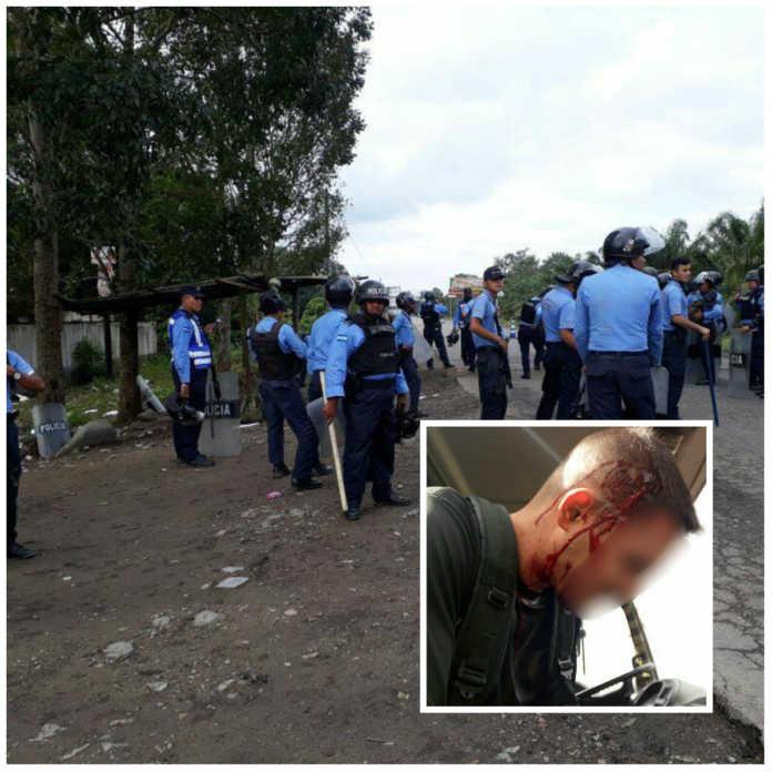 saldo de protestas en Tocoa