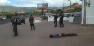 cuerpo con señales de tortura en Tegucigalpa