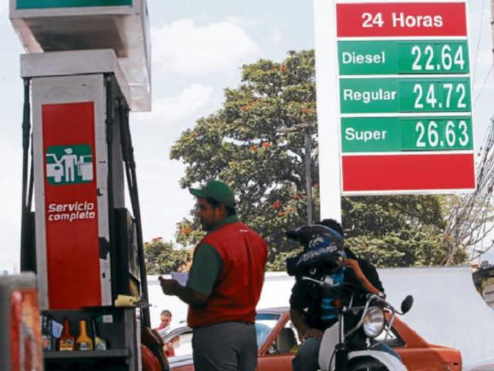 precio de los combustibles en el 2018
