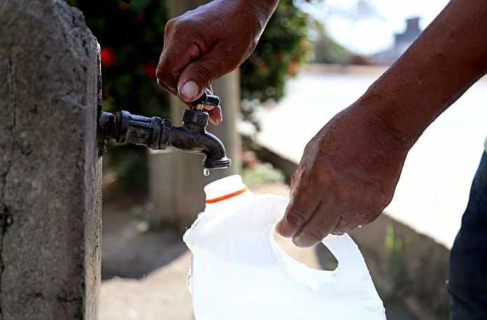horario de distribución de agua