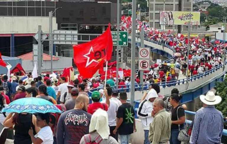 Bloque opositor anuncia movilización para el viernes en Tegucigalpa