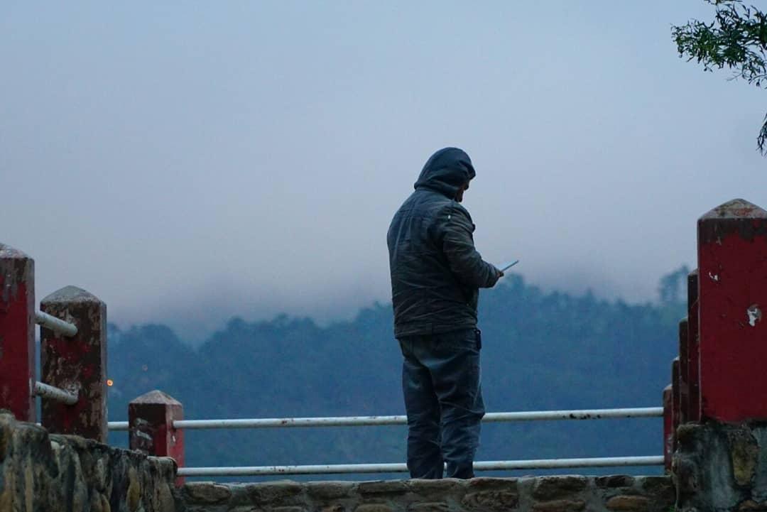 La neblina en la zona ha dificultado la visibilidad en las sectores más altos de La Esperanza.