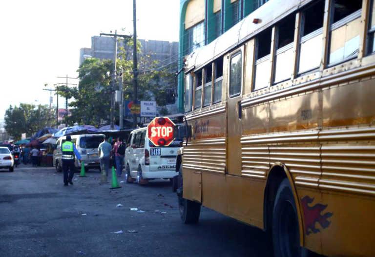 Aun bajo amenazas, buses trabajan con normalidad en SPS