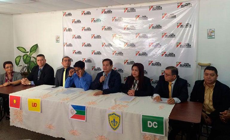 Cinco partidos políticos minoritarios en Honduras