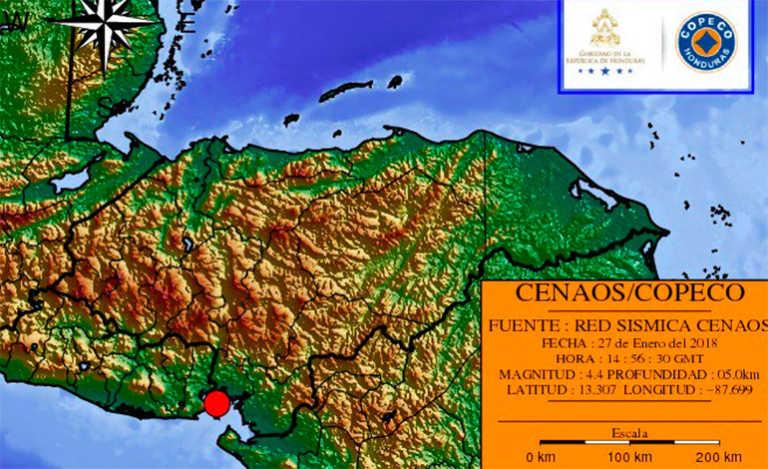 Dos sismos sacudieron el territorio hondureño este sábado
