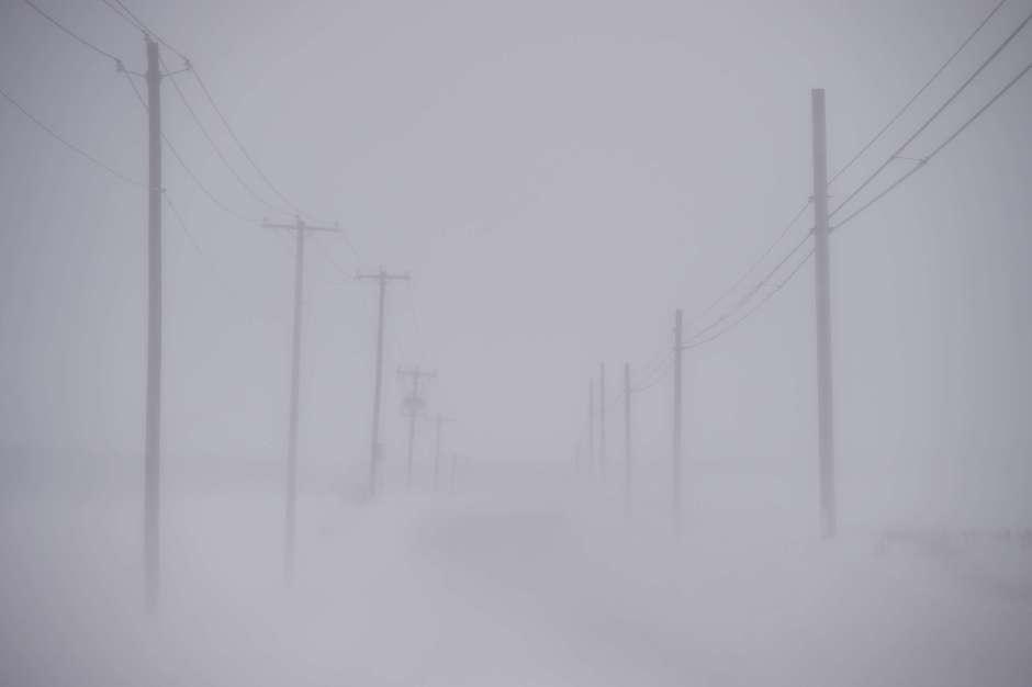 El frío afecta a parte de EEUU y Canadá. Las temperaturas han llegado hasta -37 grados.