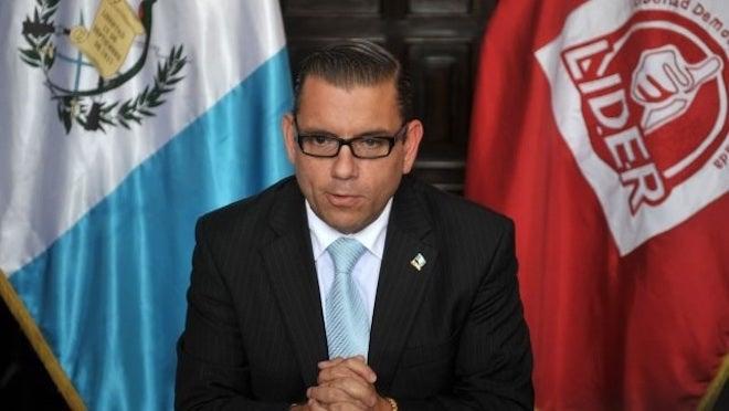 EUA captura a Manuel Baldizón, sindicado por caso Odebrecht
