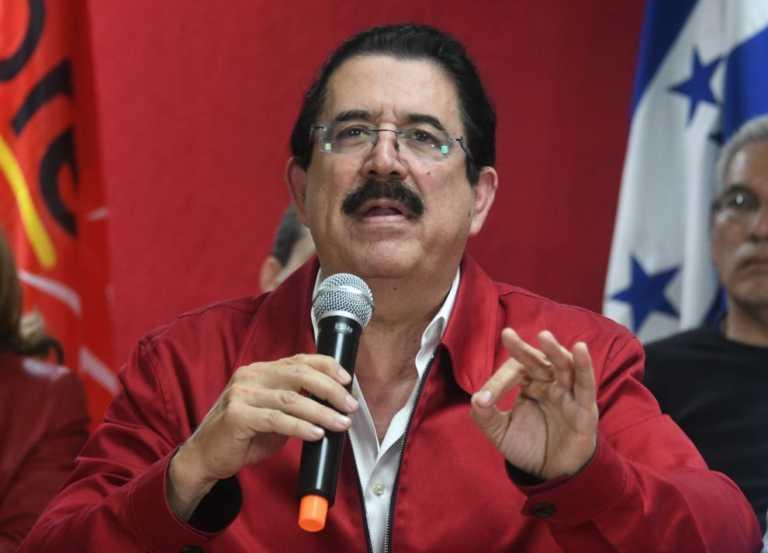 """""""No dialogamos con el dictador"""": Manuel Zelaya Rosales"""