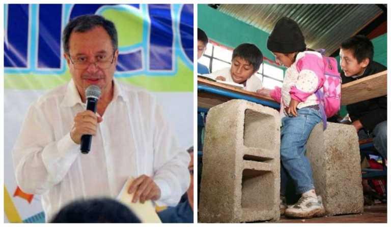 """Ministro de Educación de Honduras: """"En el siglo 21 ya no se utilizan pupitres"""""""
