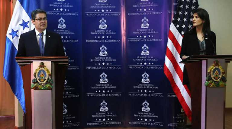 Presidente Hernández habla del TPS, narcotráfico y el diálogo con embajadora Haley