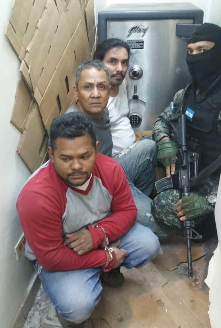 Los capturan cuando pretendían robar caja fuerte de Banco Ficohsa