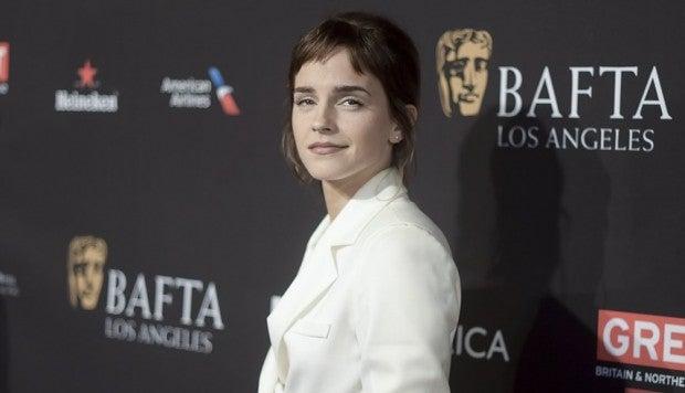 Emma Watson dona 1 millón de dólares a un fondo de lucha contra el acoso sexual