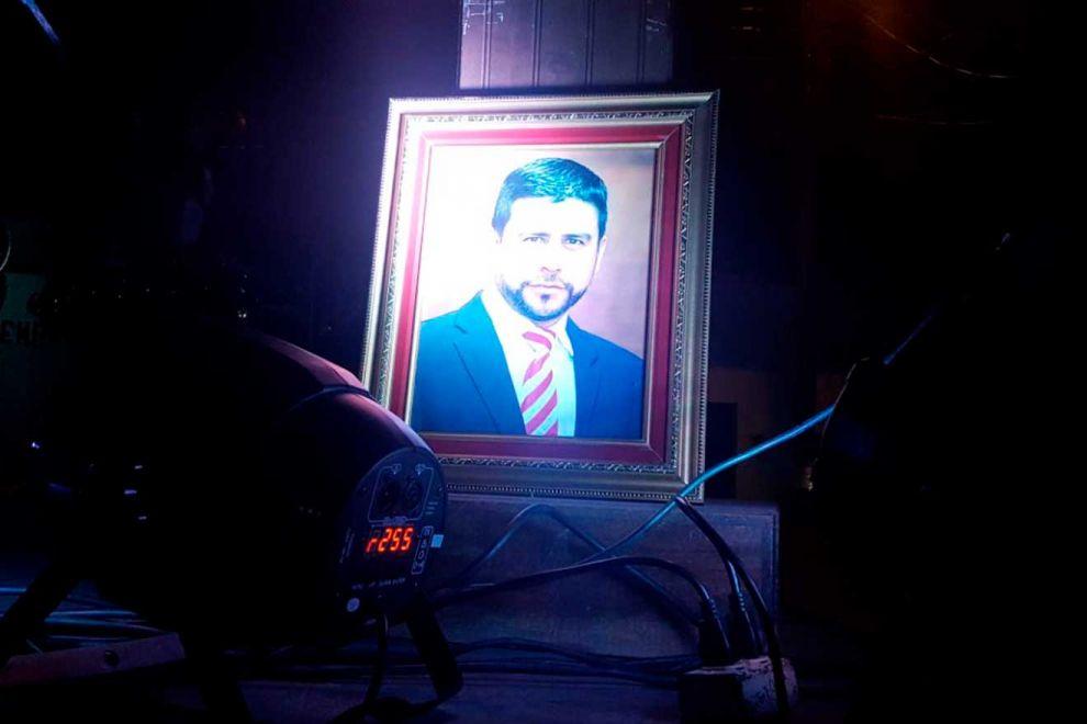A un año de su muerte, rinden homenaje agrónomo asesinando en SPS