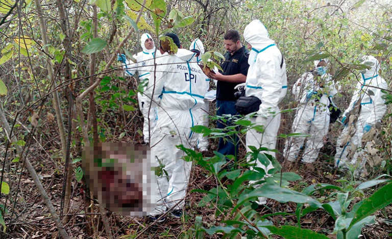 Encuentran cuerpo decapitado de motorista que venía de Costa Rica