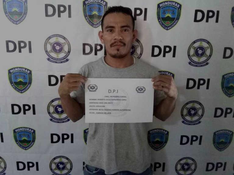 Capturan a jornalero acusado de violación en Puerto Cortés