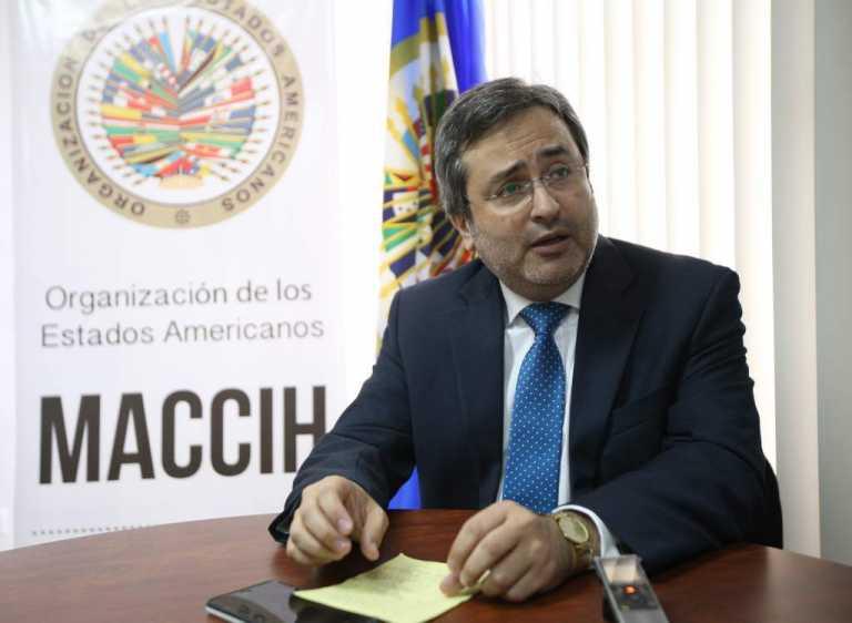 Jiménez Mayor estuvo más de 21 meses al frente de la MACCIH