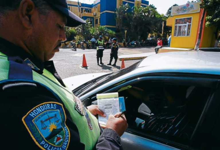 Multas de tránsito serán aplicadas de forma digital en Honduras