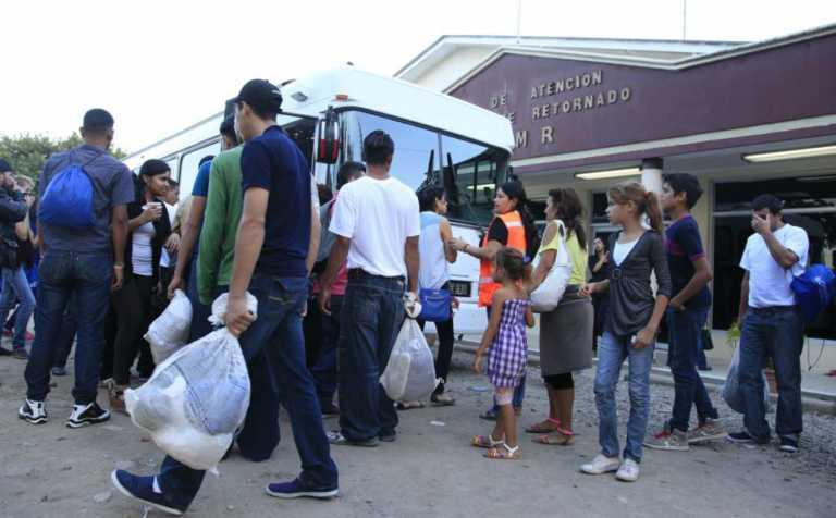 Más de 4 mil hondureños fueron deportados en enero, según informe