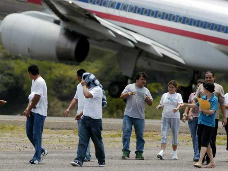 Más de seis mil hondureños deportados en los primeros 40 días del 2018