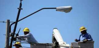 Sectores del país que no tendrán electricidad