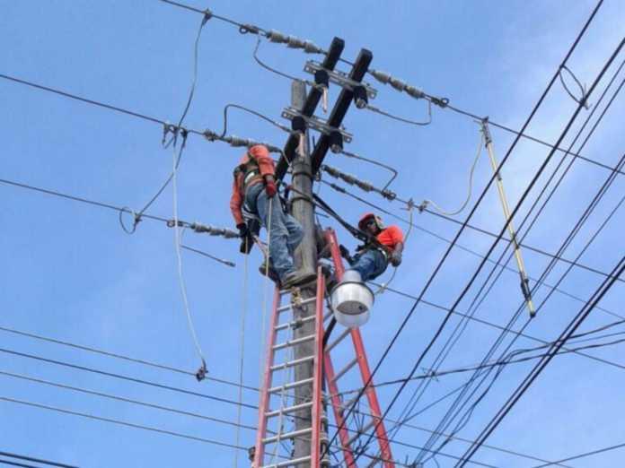 barrios y colonias del país que no tendrán energía eléctrica