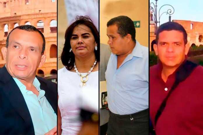 Familia Lobo en Honduras