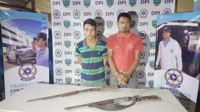 Policía captura sospechosos de femicidio en Lempira