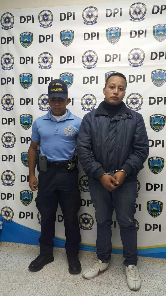 capturado en el aeropuerto Ramón Villeda Morales