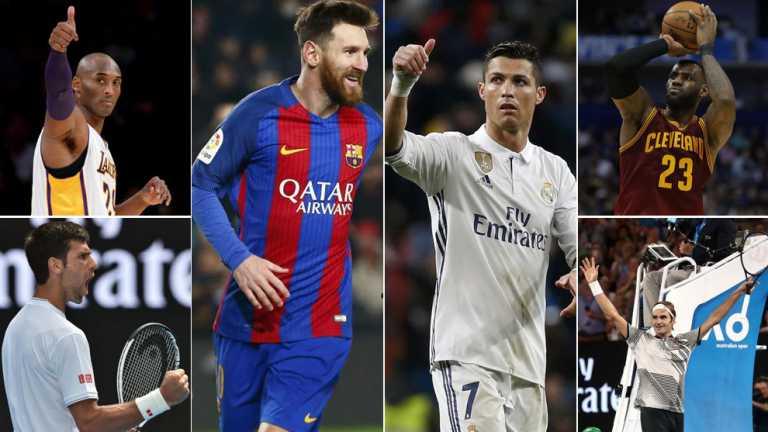 Los diez deportistas más predominantes del mundo