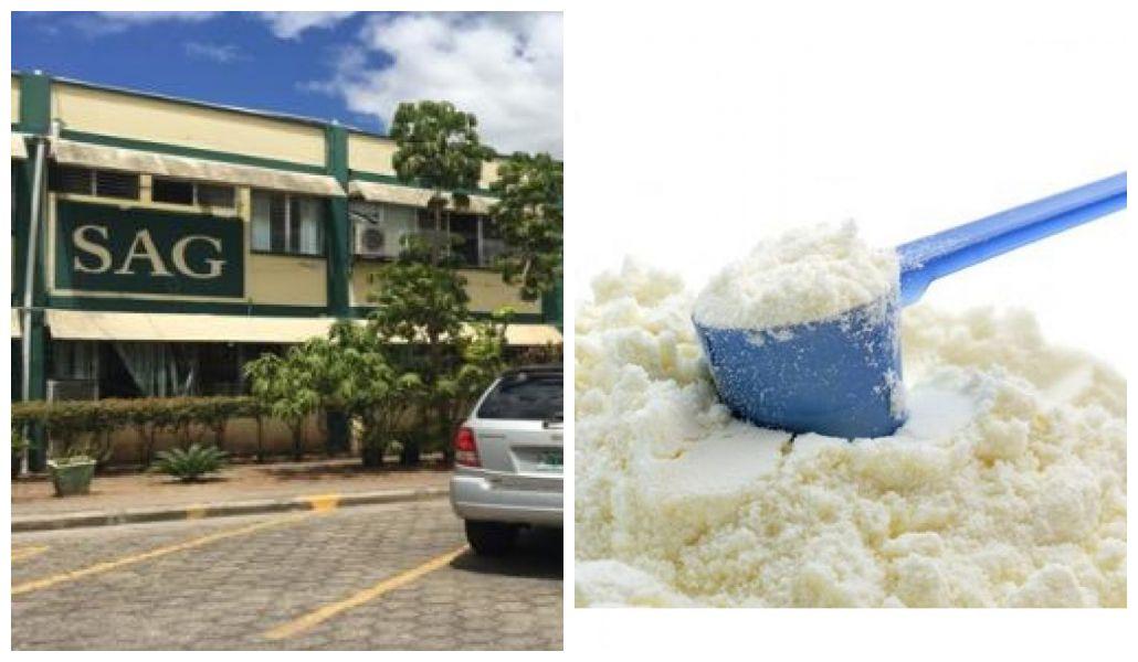 importación de millonarias toneladas de leche en polvo