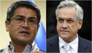 Hernández será el único presidente de Centroamérica en asistir a toma de posesión de  Sebastián Piñera