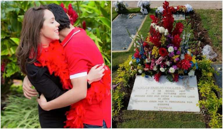 Emotivo mensaje de la madre de Carlos Collier a cinco meses de su muerte
