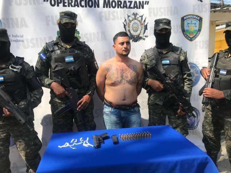"En Choloma cae el ""Poison"", tras operación ""Morazán"""