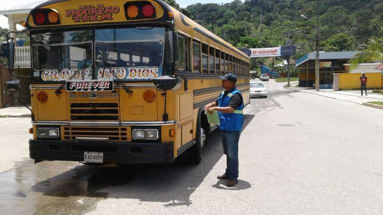 SPS: Apenas 491 autobuses fueron a revisión físico y mecánica