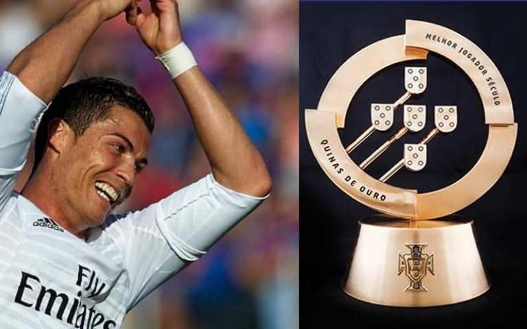 Cristiano Ronaldo vuelve a ser el mejor jugador portugués del año