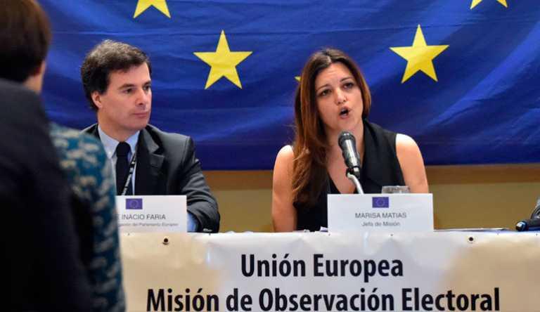 Misión de la UE presentará hoy informe final sobre elecciones generales