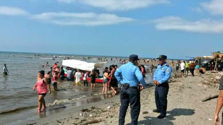 Celebrando su cumpleaños, muere niño ahogado en Omoa